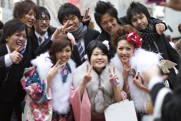 2010 成人の日(Seijin No Hi) Coming of Age Day: Post-Ceremony - 01