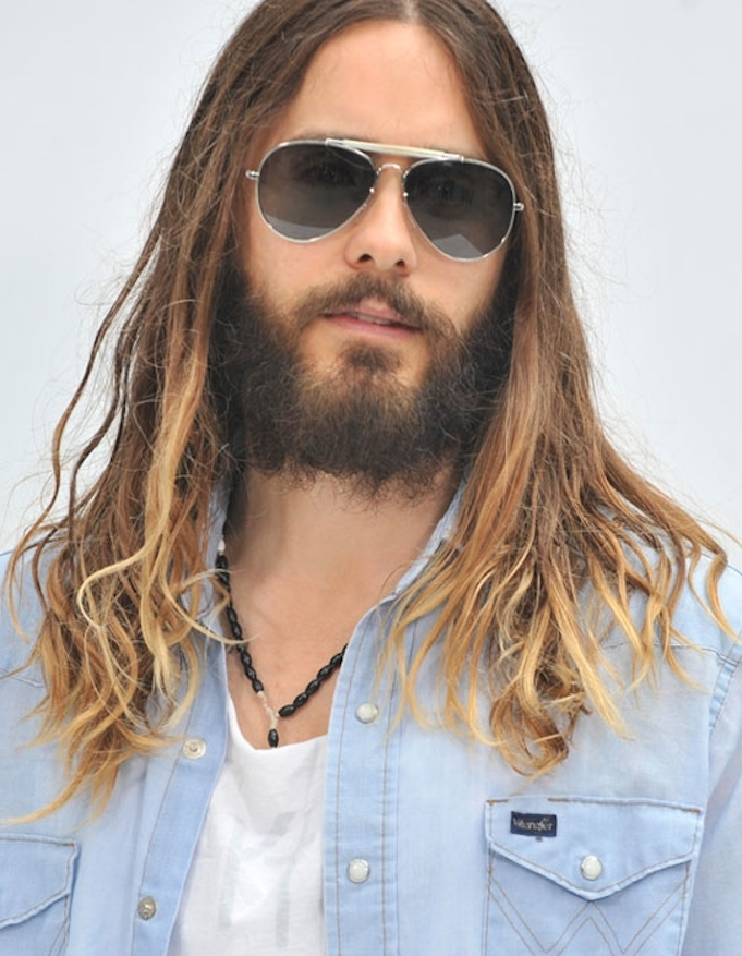 Jared Leto's hot-Jesus hair