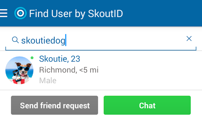 Set up your SkoutID so Skouters can find you.