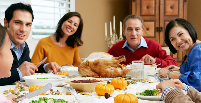 With whom do you spend Thanksgiving: Family or friends?