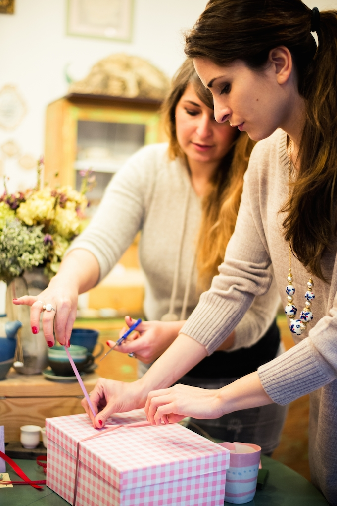 Handmade gifts are more personal – and more fun – when you make them with friends!