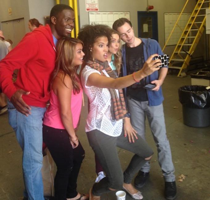 Skout stars selfie!