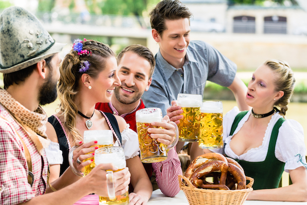 Celebrate Oktoberfest with friends!