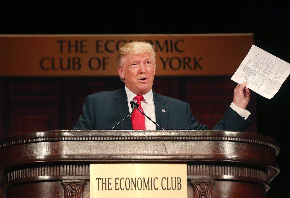 The Donald vs. Economics