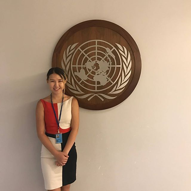 Meet our 2017-2018 President, Oga! She's spending the summer as an Economic Affairs Intern at the United Nations New York Headquarters. Over the next few weeks, we'll be highlighting our members and their accomplishments this summer!