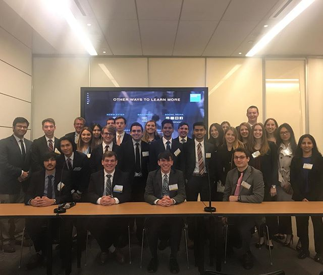 EA trip to Goldman Sachs HQ in NYC to catch up with some of Goldman's PSU Alum. Their sincere stories and great advice only made us more hungry in the never ending pursuit to always learn more. #WeAre #GS