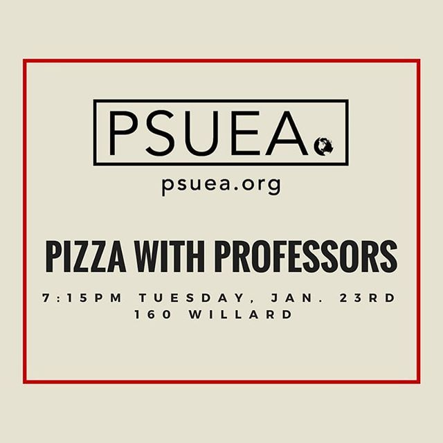 Come meet Econ faculty! 🍕will be provided!