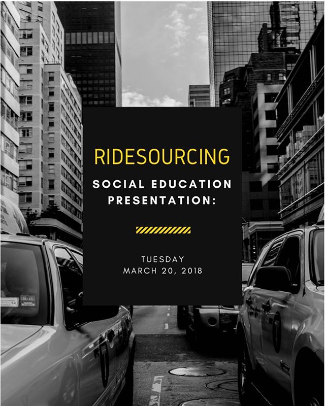 Come out to tonight meeting in 160 Willard Building! Social education will be giving a presentation on the economics of ridesourcing! 🚕🚙 In addition, we will be having a Skype call with Gerald Silverstein, a retired economist from the US Treasury! #PSUEA #Uber #Ridesharing #PSU #Economics 💸💵💴💶💷💰