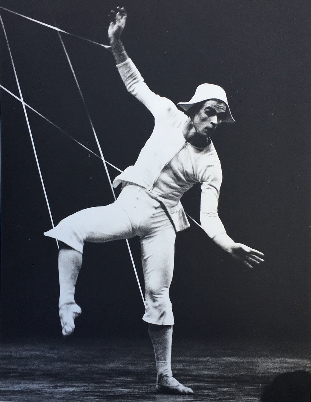 Nureyev as a Marionette