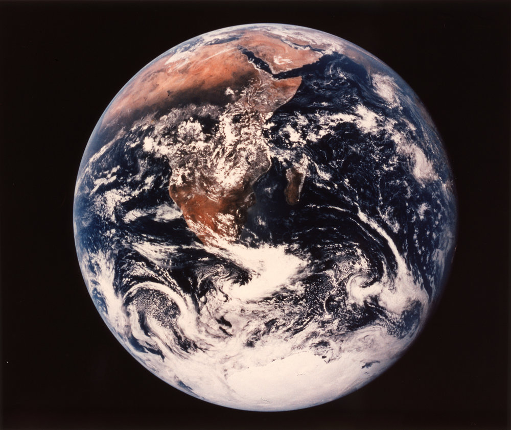 NASA 72-HC-928 Earth, The Blue Marble