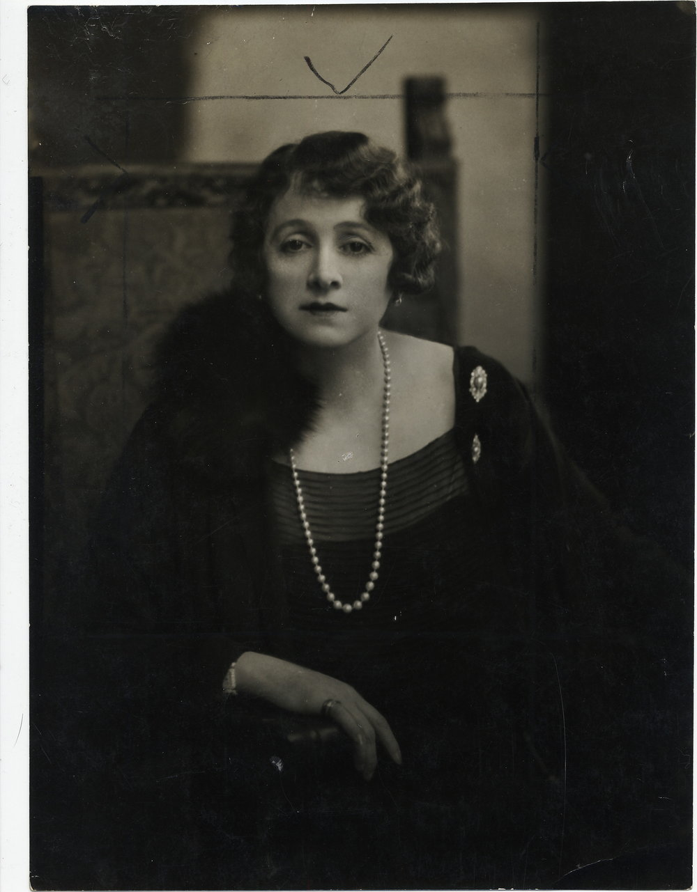 Emil Otto HOPPÉ (1878-1972)    The Marchioness of Curzon of Kedleston (one of the leading Society hostesses of the day), circa 1925