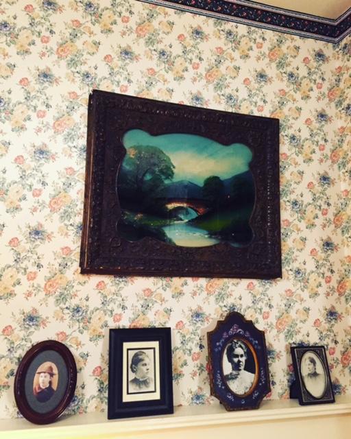 Mantle in Borden House.