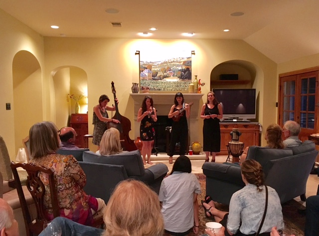 Ley Line Performs Their Beautiful Music at Villa Vigneto Texas