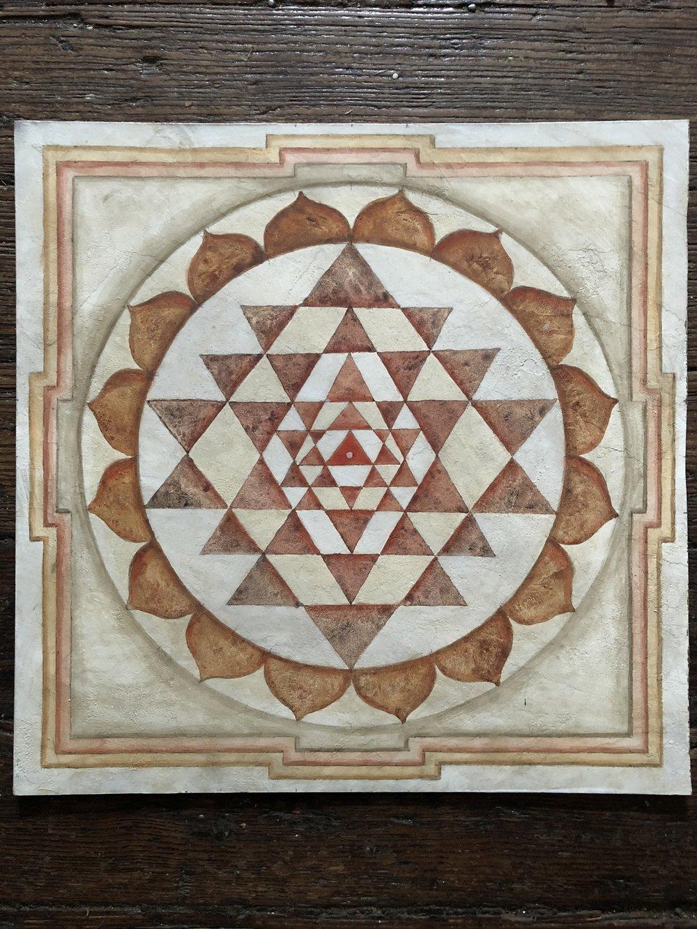 Yantra Mandala by Sean Kramer