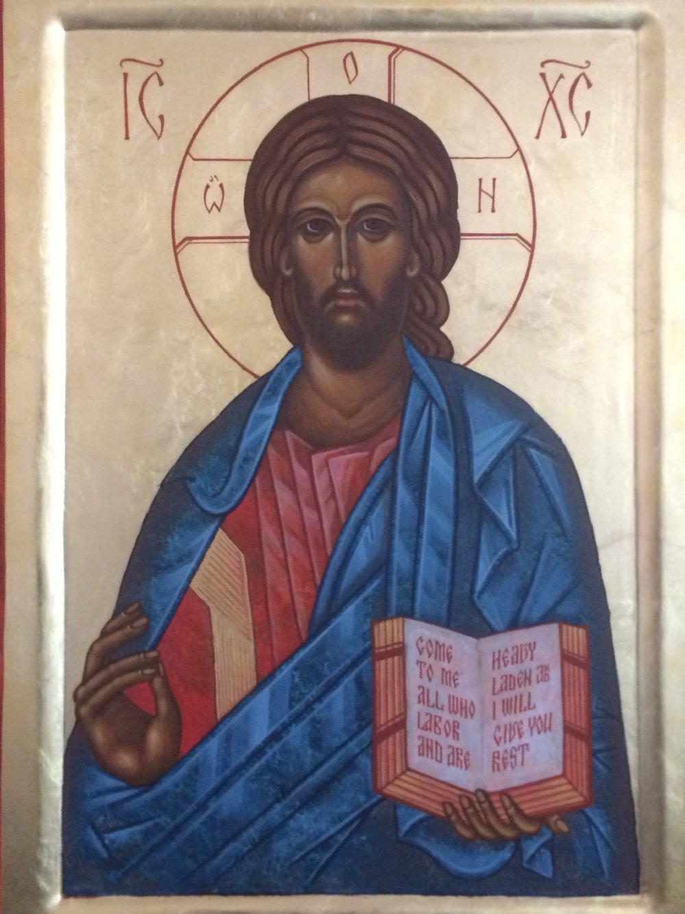 Jesus in Blue by Sean Kramer