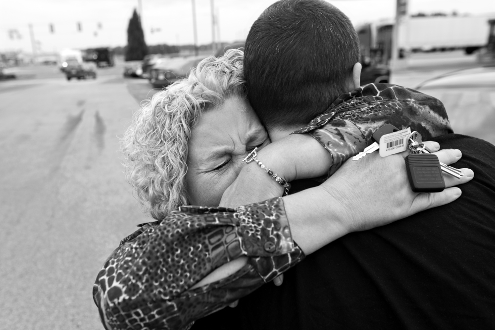 """Lynda is reunited with Paul after his release from the Perry County Jail and vows to get him the help he needs. """"If I don't get help for my son and I end up dying, you will become his victims because he can't help himself,"""" she said."""