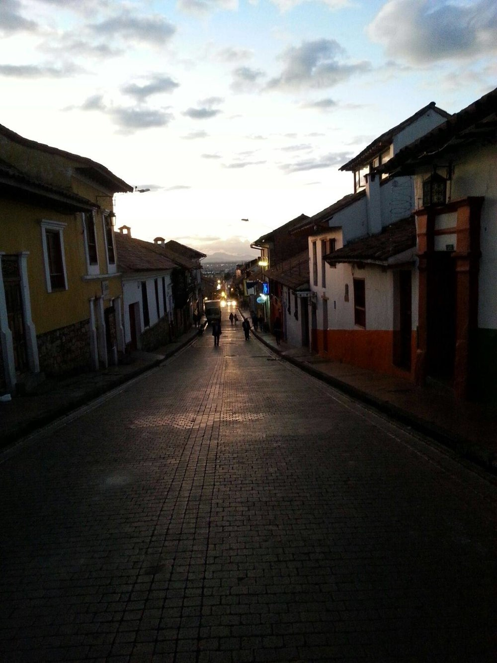 A street in la Candelaria.