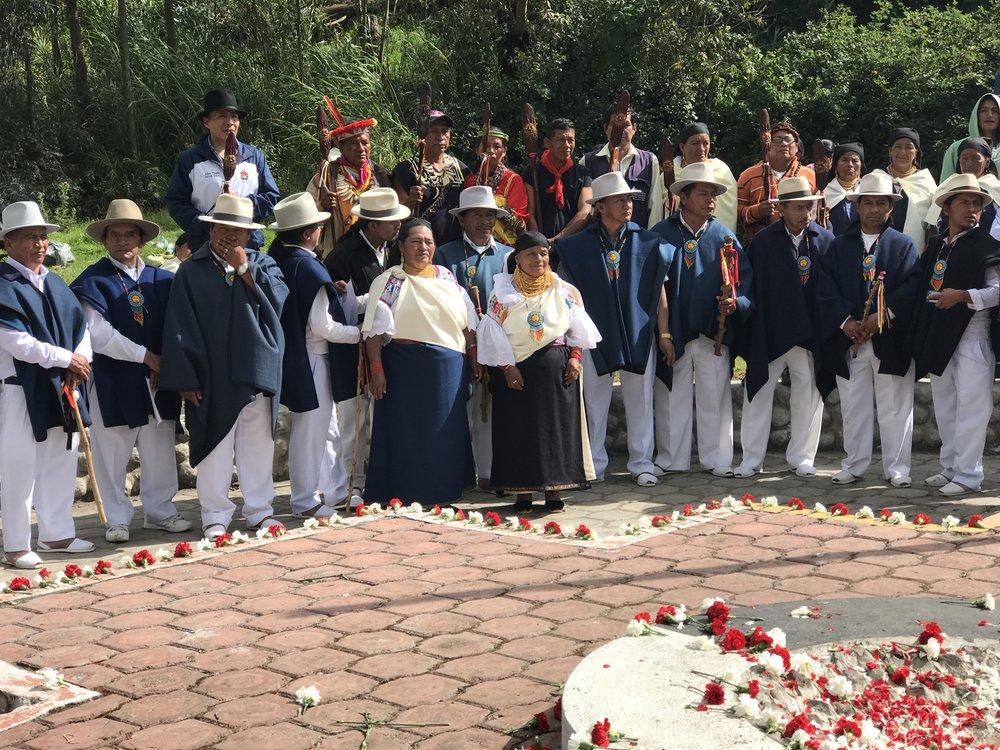 The celebration of Inti Raymi.