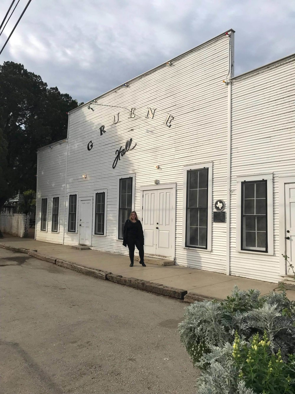 The historic Gruene Dance Hall!