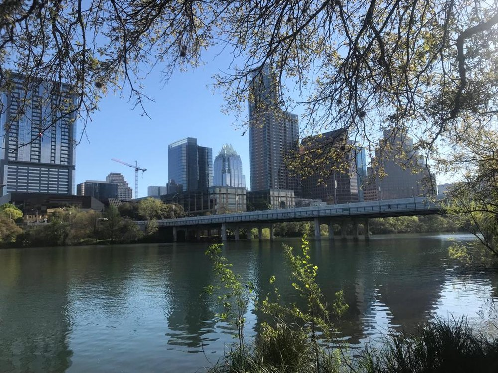 We strolled by Lady Bird Lake & into downtown after spending some time on South Congress.