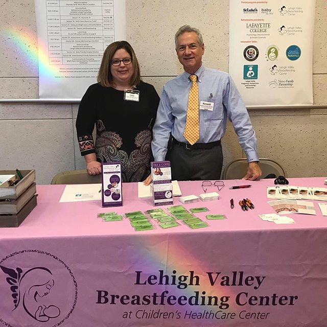 Proud of our two IBCLC speakers at the Lehigh Valley Breastfeeding Coalition's Inaugural Conference today.
