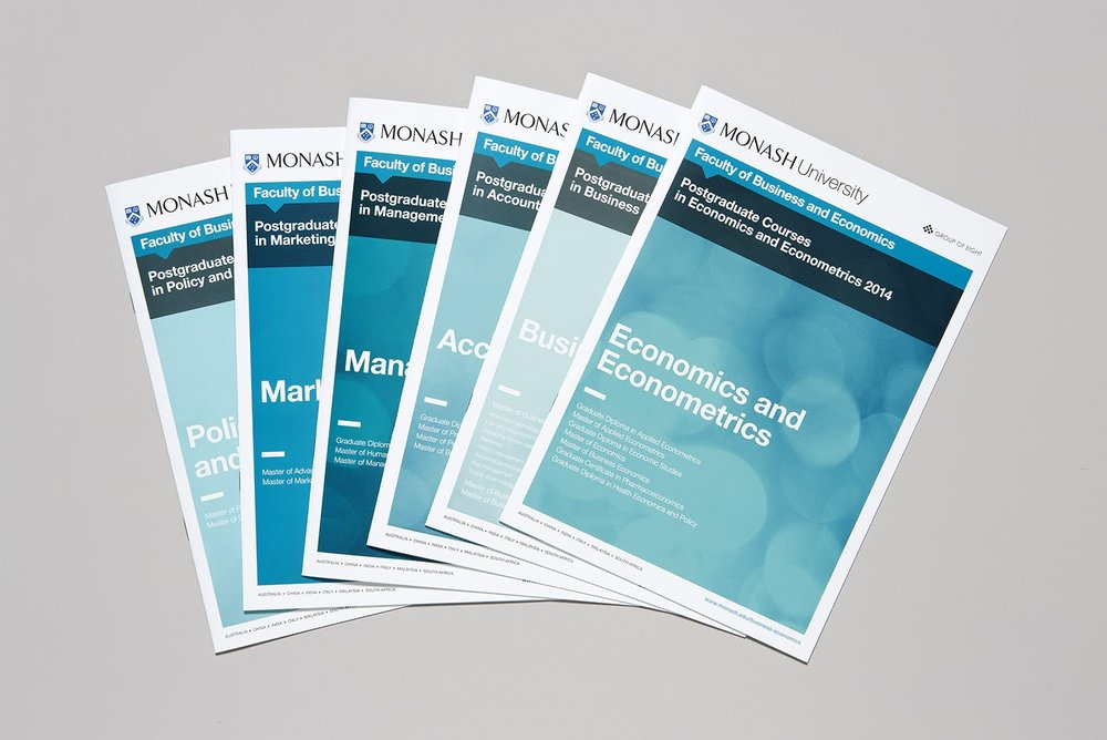 MONASH UNIVERSITY Publication Design | Print Management