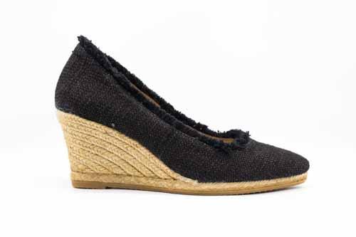 fdd083fa4b5a Gaimo Teva Wedge Black — European ladies shoes