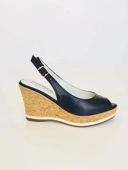 7f8dbeaa5b09 All · Heels · Sandals · Wedges. Aerobics navy wedge