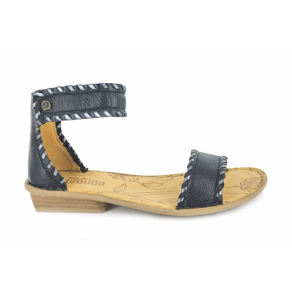 88ea829f Tsonga Thushana sandal in Black — European ladies shoes | Brisbane,  Australia — Milo & Macy Shoes