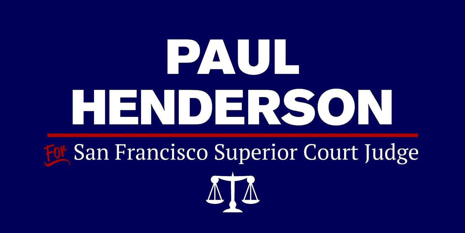 Paul Henderson for Judge