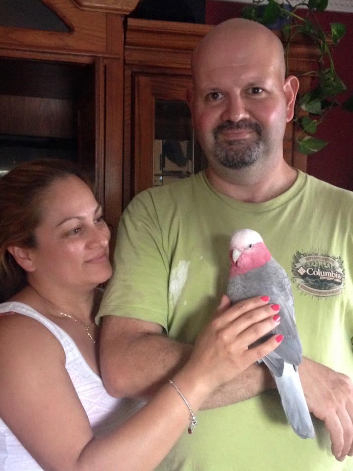 Rosie chose her loving family in June 2016.