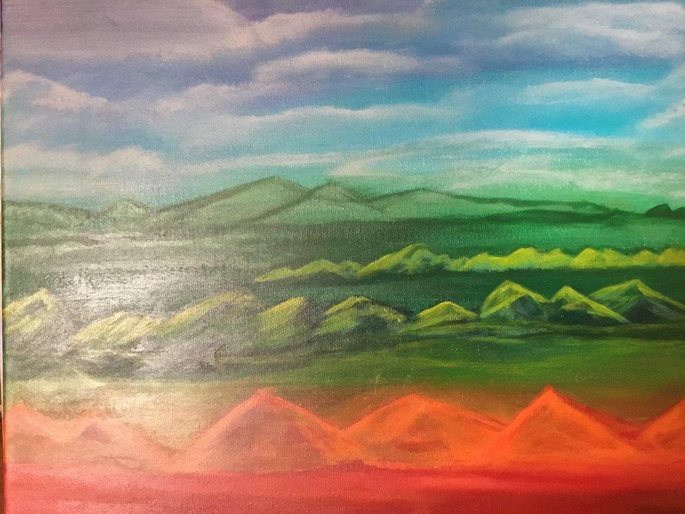 Chakra Mountain Range  2017