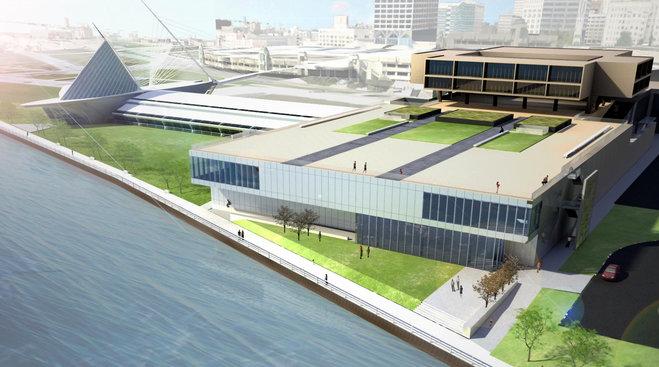 Milwaukee Art Museum Reopening