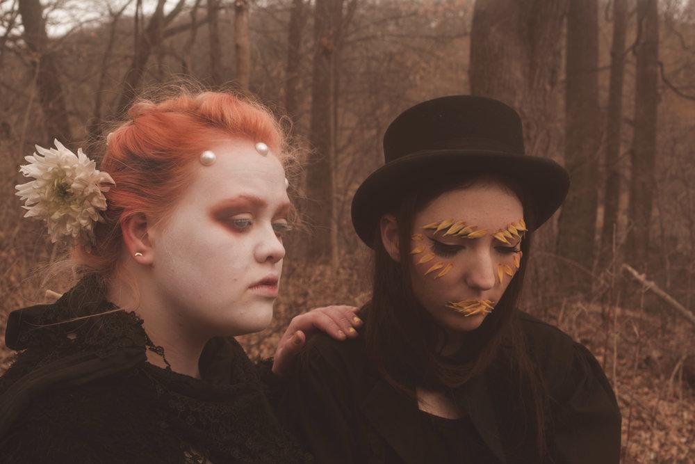 Christina and Valeriya, shot by Amanda Mills.