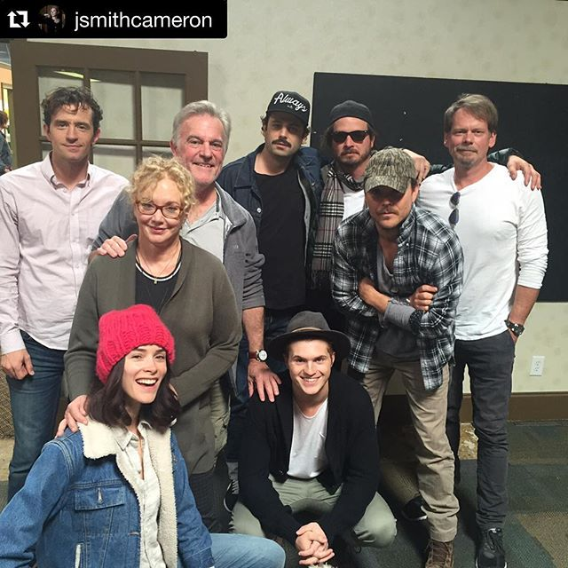 So excited for Season 4 #Rectify !! #Repost @jsmithcameron ・・・ Table read