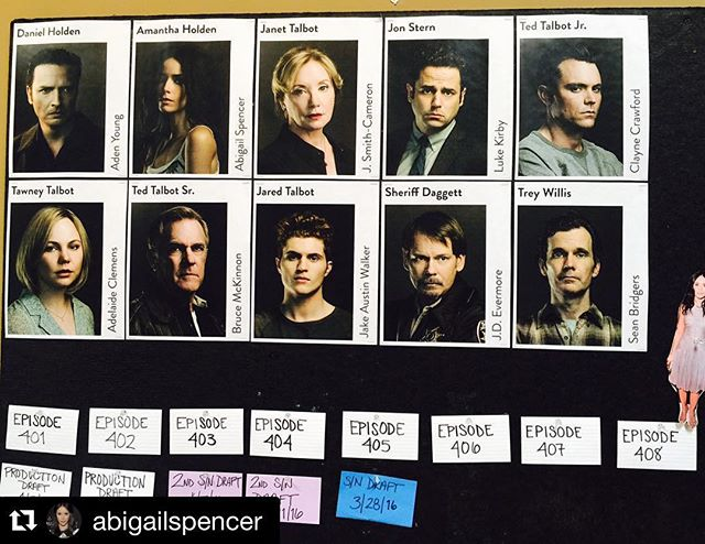 So excited about this upcoming season. Such a fantastic cast.  #Repost @abigailspencer ・・・ Back at it #Rectify @sundancetv