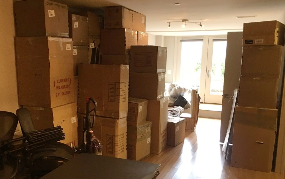 Future gym + office are in these boxes