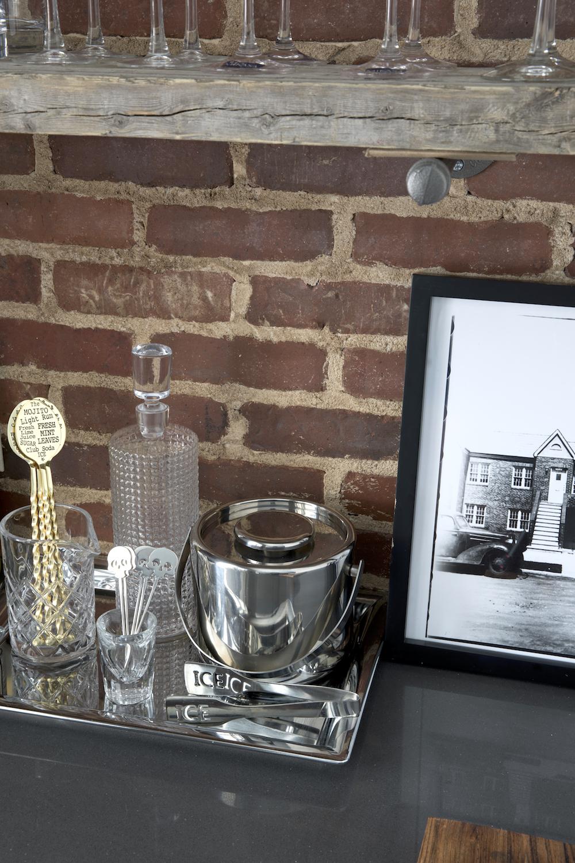 modern farmhouse industrial home kitchen bar brick wall.jpg