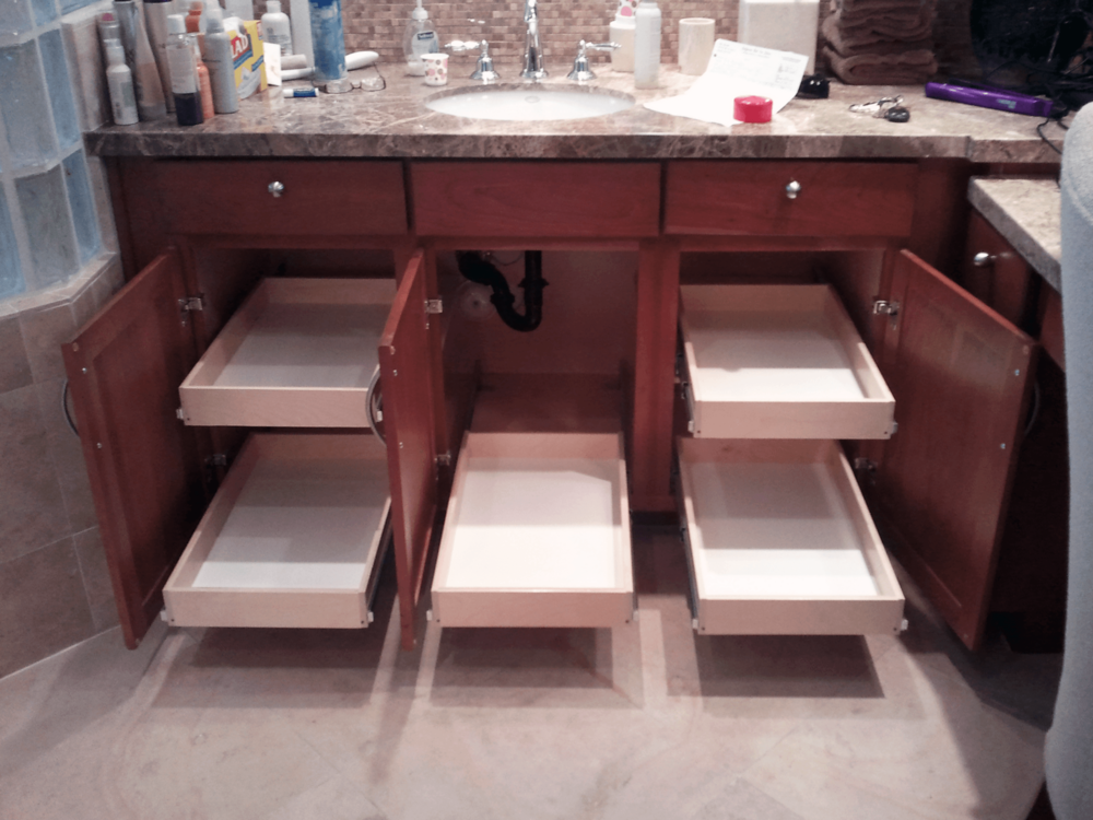 Want To Get Organized And Eliminate Your Cluttered Bathroom Cabinets? Want  To Get Access To 25% More Space Within Your Existing Cabinets?