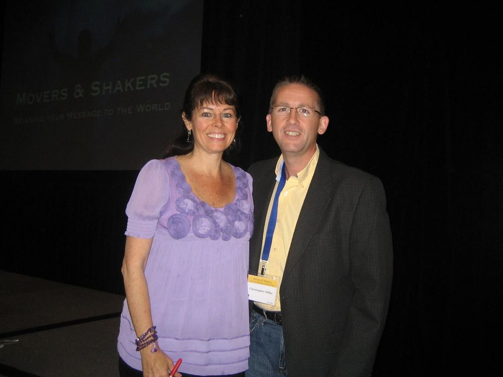 Chris with Cheryl Richardson (2010)