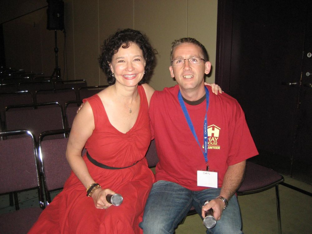 Chris with Sonia Choquette (2010)