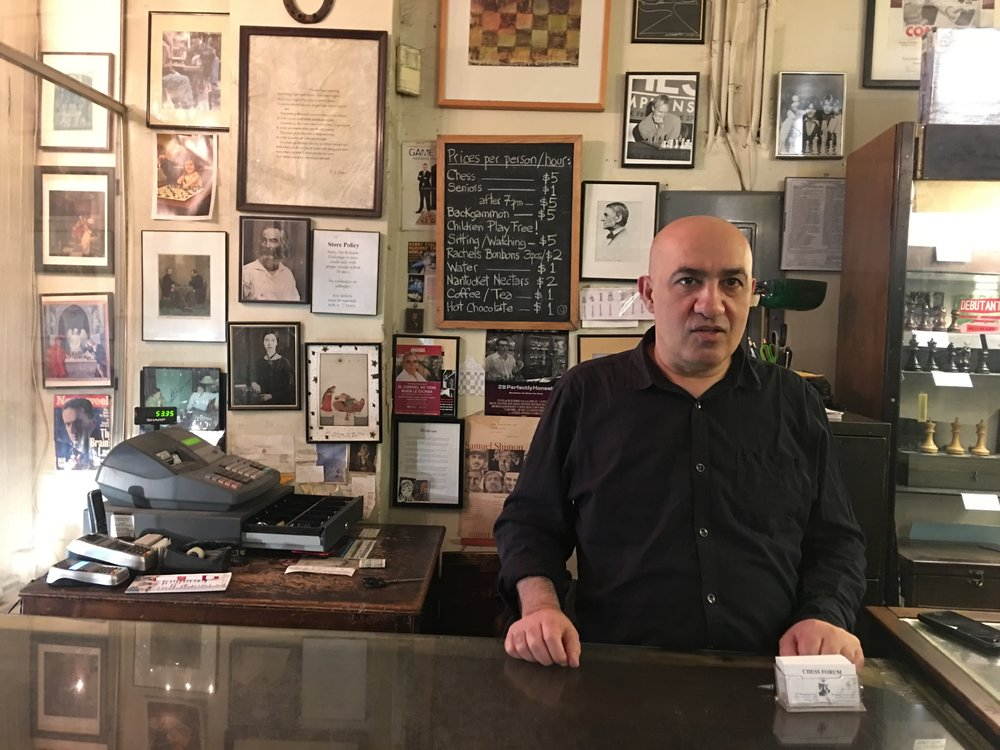 Chess Forum Owner Imad Khachan