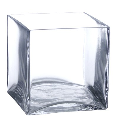 Cube clear glass
