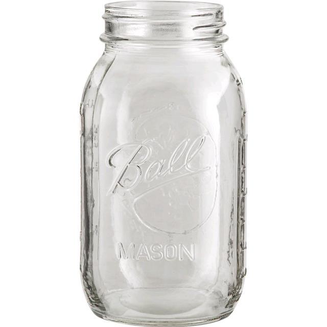 Mason jar clear vase.jpg