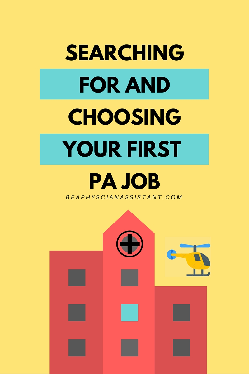 recent pa graduates discuss finding their first pa jobs be a recent pa graduates discuss finding their first pa jobs