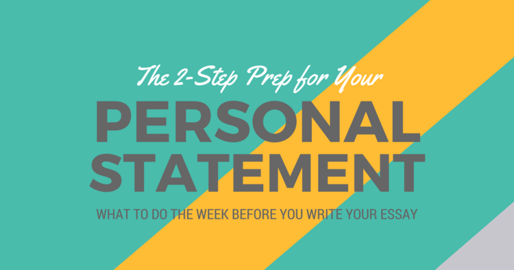 The 2-Step Prep for Your PA School Personal Statement|Be a ...