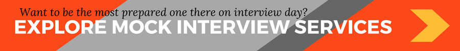 Mock interview banner