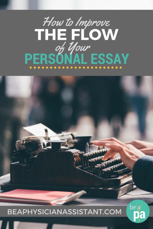 flow of an essay