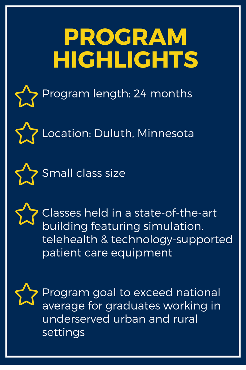 St. Scholastica PA Program HighlightslBe a Physician Assistant