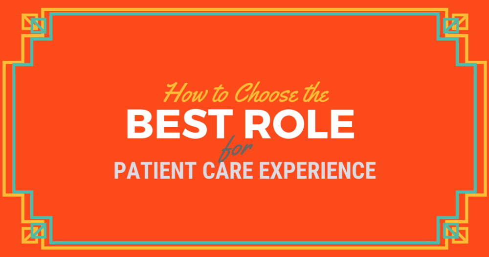 Finding the Best PCE Role for PA School lBe a Physician Assistant